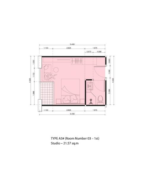 Serenity wong amat for sale pattaya seren01 - Plan studio studio m ...