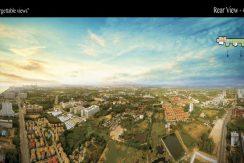 Riviera Jomtien Pattaya Condo For Sale 46th Floor Rear Views