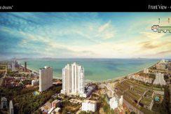 Riviera Jomtien Pattaya Condo For Sale Front Views 46th Floor