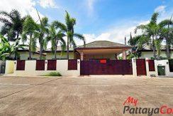 SP Village 5 Single House 3 Bedroom For Rent East Pattaya - HESP5V01R