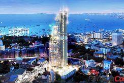 Palm Bay 1 Pattaya Condos For Sale Night.JPG
