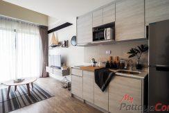Aeras Beachfront Jomtien Condo Pattaya For Sale & Rent 1 Bedroom (Loft) With City Views - AERAS09
